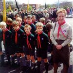 Cub Pack - Mid 1980s.