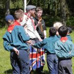 New Scouts being invested.