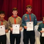 Chief Scout's Gold Award.