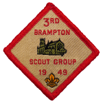 3rd Brampton Badge Logo